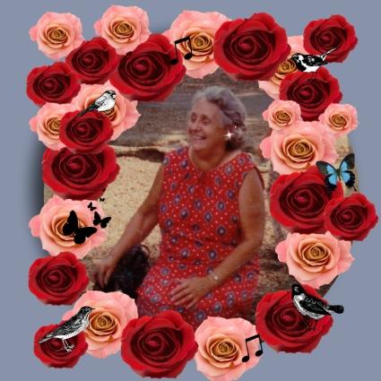Mom laugh Pic Monkey Flowers