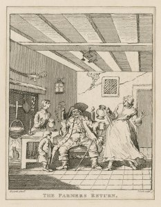 Hogarth Print, Thomas Cook 1744-1818, printmaker.
