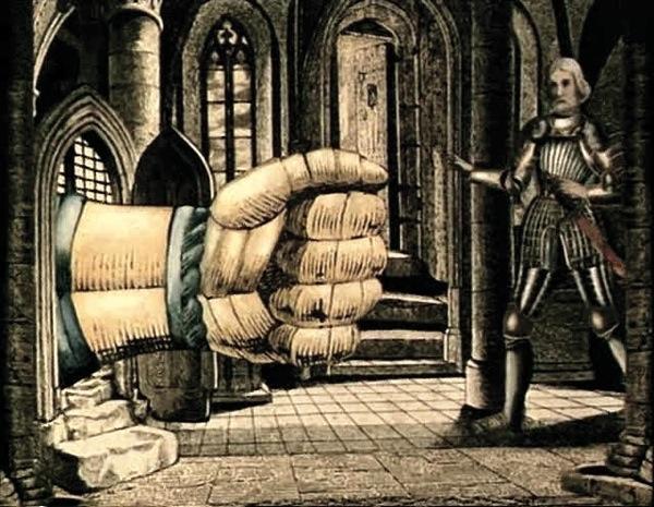 Otranto ghost hand