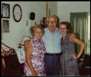 Dorotha (my mom), Glade and me.